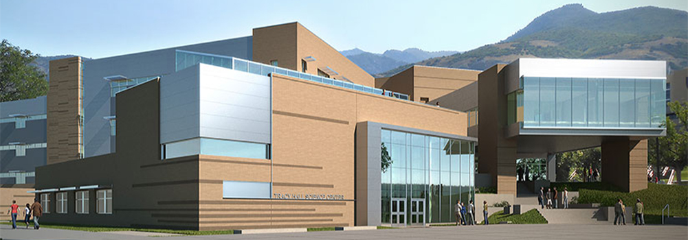 Tracy Hall Science Center Rendering